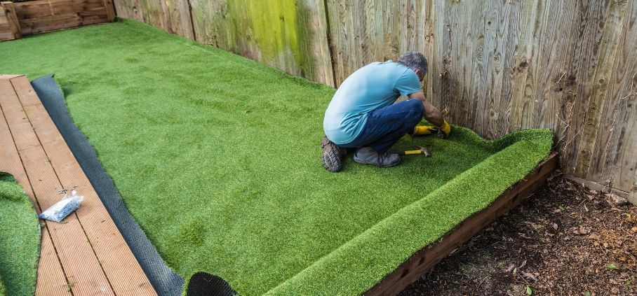 A DIY guide to installing artificial turf.