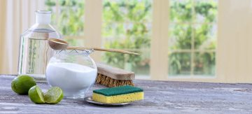 Natural cleaners for the oven