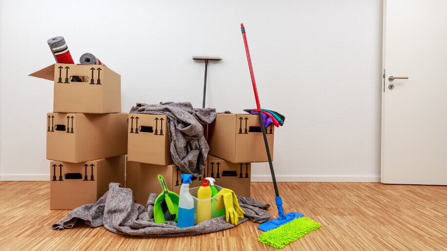 End of lease cleaning process