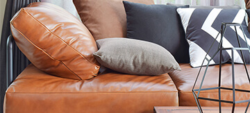 How to Clean a Leather Couch - Featured Image