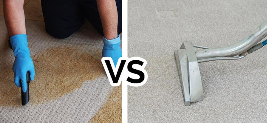 Dry or Steam Clean Carpet?