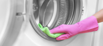Deep clean washing machine