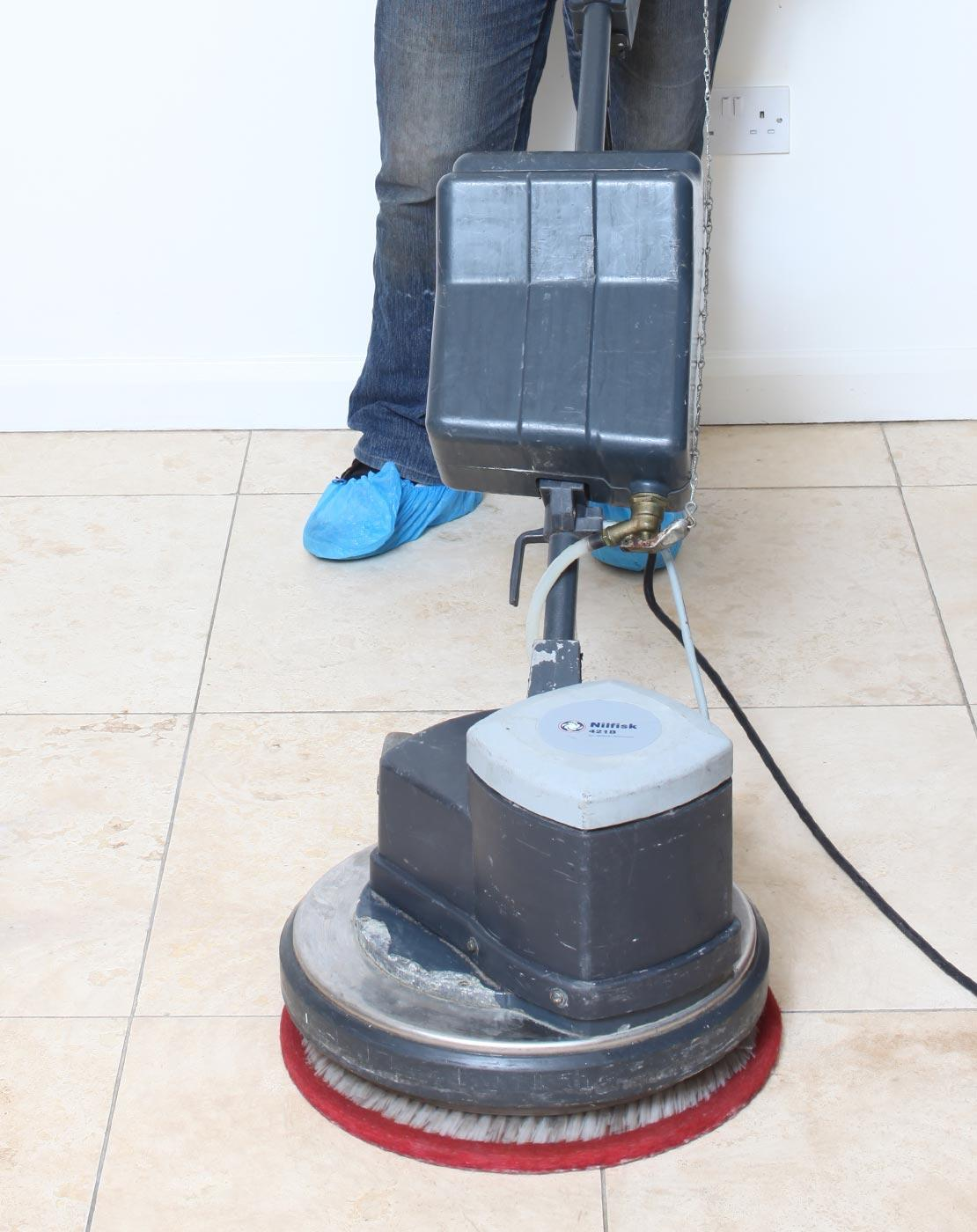 professional tile cleaning machine