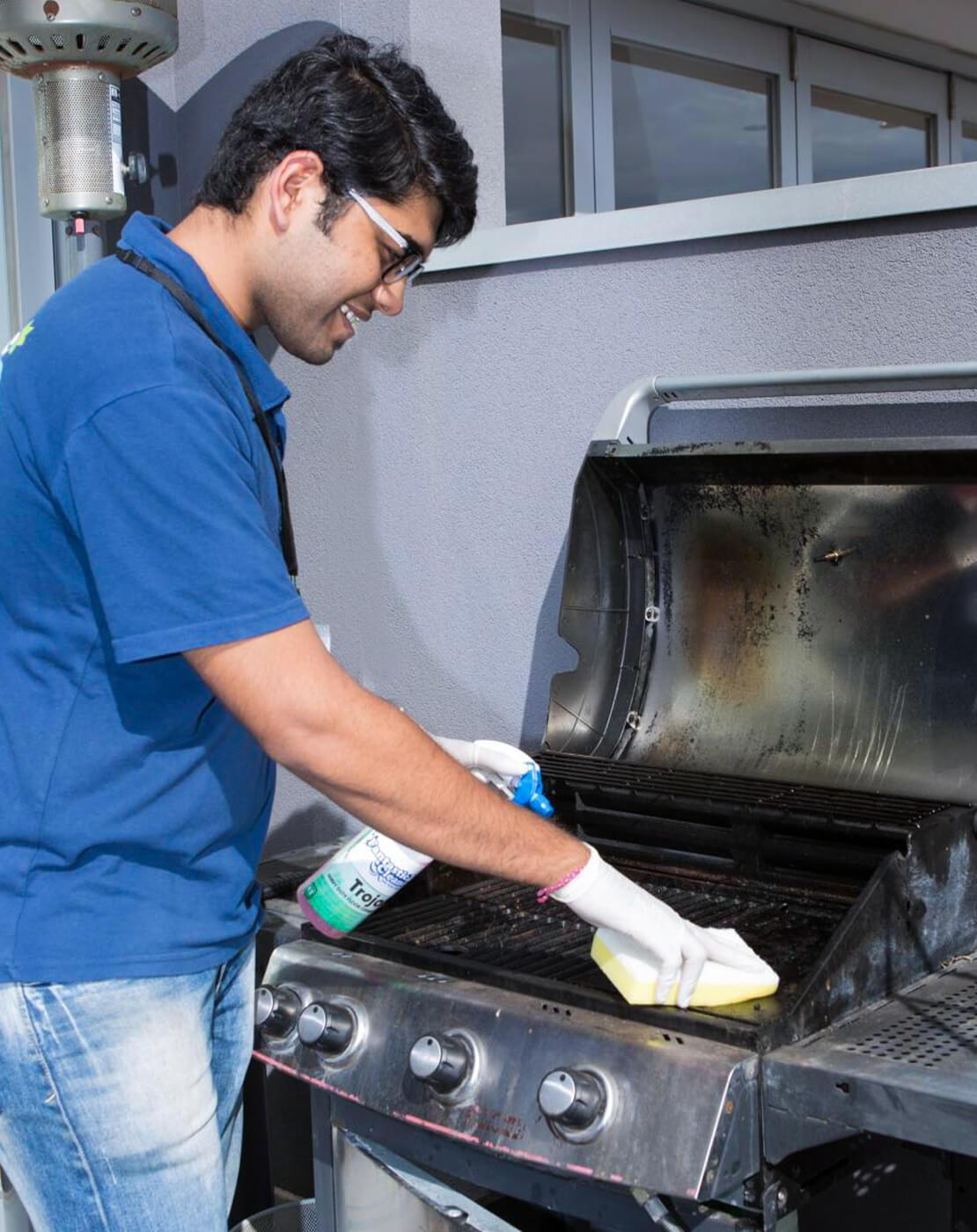 Barbecue cleaning services